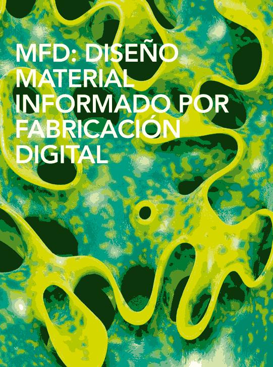 MFD: Diseño material informado por fabricación digital