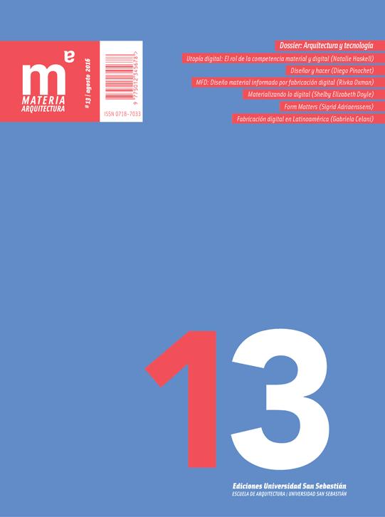 Materia Arquitectura número 13
